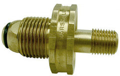 "ADAPTER-ML POL X 1/4"" MPT BRASS HANDWHEEL SN"