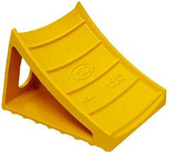 BLOCK-CHOCK ALUMINUM ME200 SAFETY YELLOW