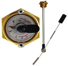 "GAUGE-FLOAT JR LP 37"" DIA 1-1/4"" MPT"