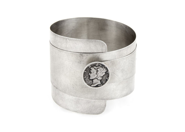 Mercury Dime Old Collector's Coin of USA Bracelet