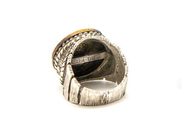 Libra Sign Astrology Zodiac Silver Ring
