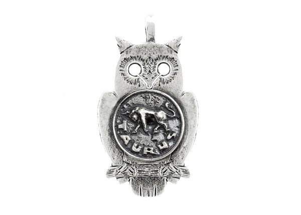 Taurus Astrology Medallion Zodiac Necklace