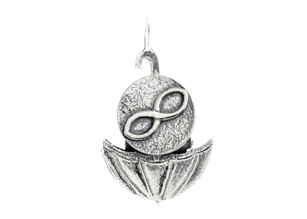 Infinity Sign Medallion of Israel Necklace - Be Infinite