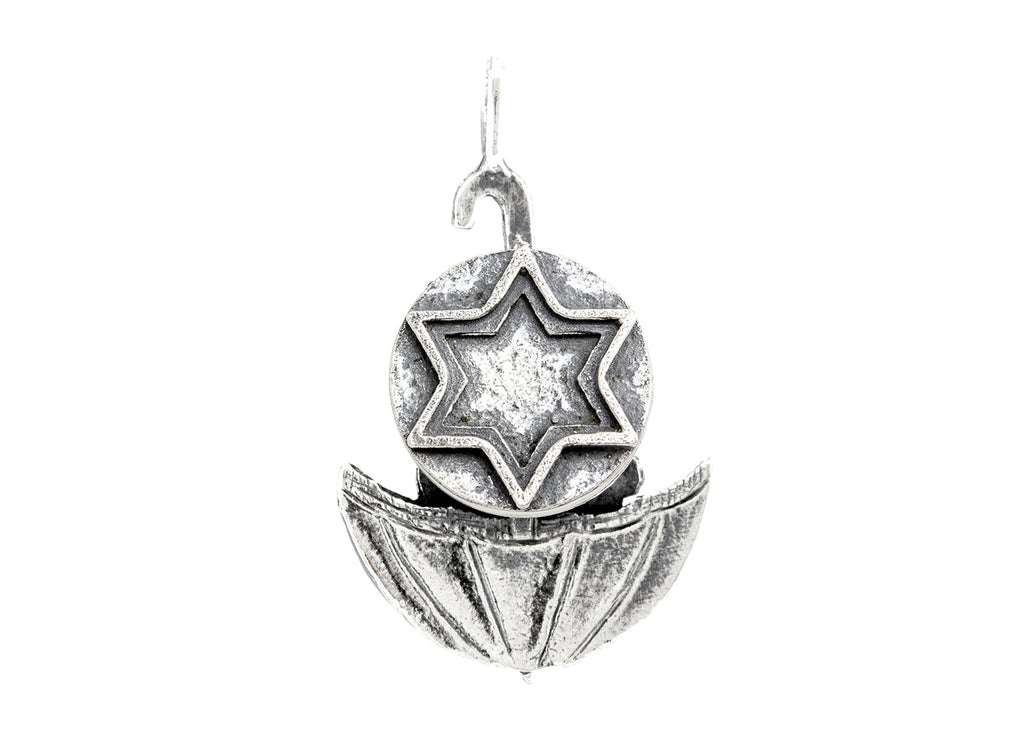 Star of David Umbrella Medallion of Israel