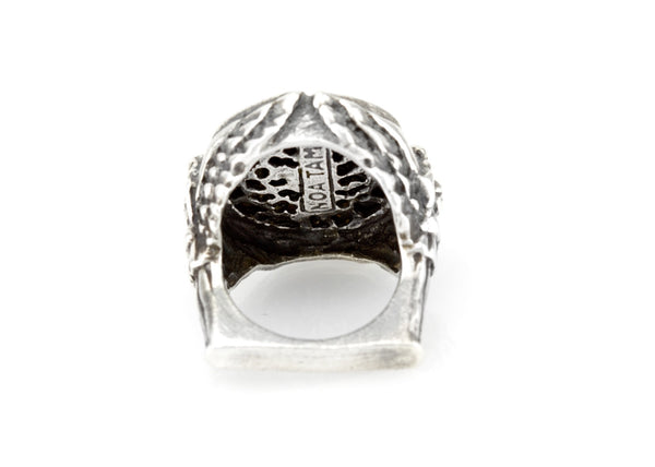 coin ring with the Flying bird medallion on Nike ring