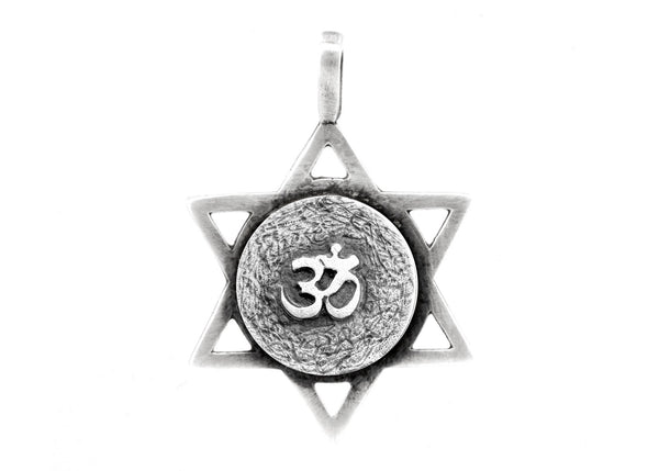 Star of David with Om Medallion