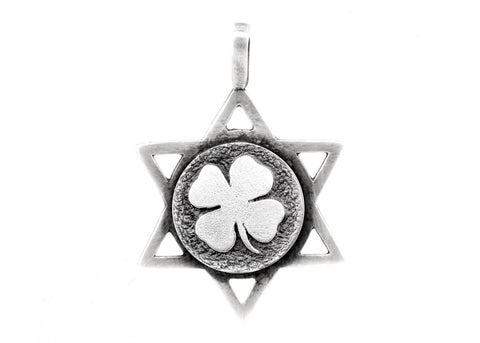 Star of David with the Clover Medallion
