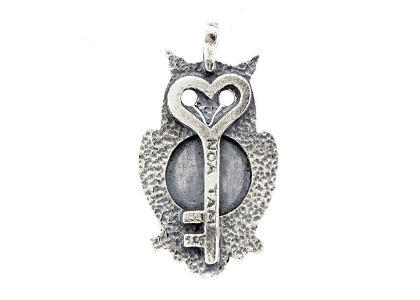Owl with Mother and Child Coin Medallion