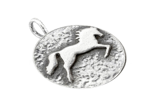 Necklace with ‏Galloping Horse