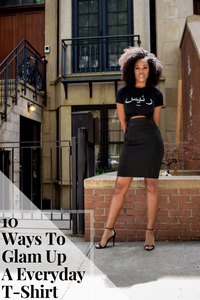 10 Ways To Glam Up A Everyday T-Shirt