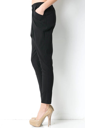 'Farrah' Draped Tapered Trousers