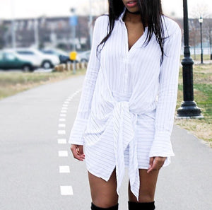 Men's Reconstructed Shirt Dress