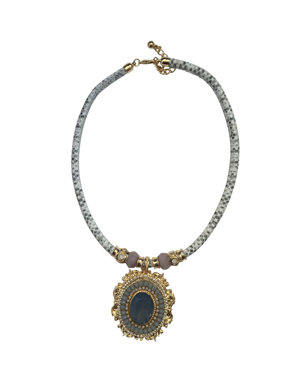 Queen Elizabeth Statement Necklace
