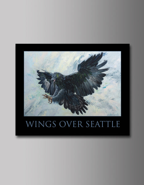 "Wings Over Seattle Standard 16 x 20"" print."