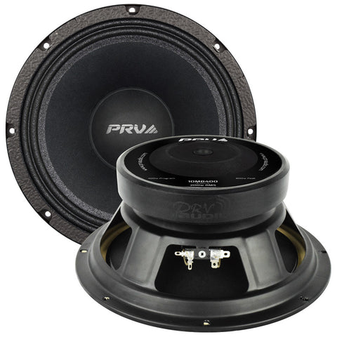 "PRV Audio 10MB400 10"" MIDBASS LOUDSPEAKER 8 ohms 400 Watts"