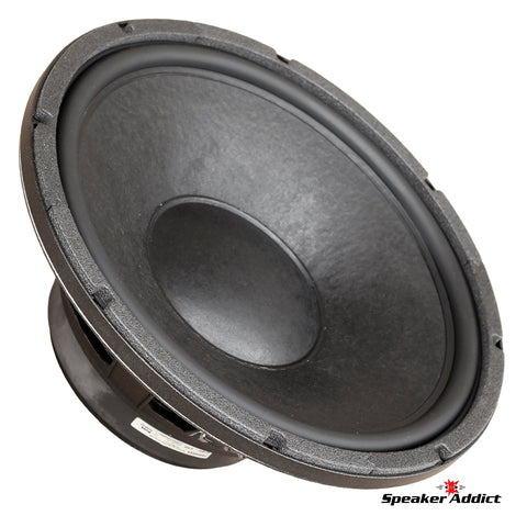 Eminence 15 inch 8 ohm Custom Woofer Subwoofer with Cast frame and Rubber Surround