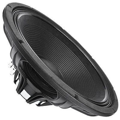 "Faital Pro 18HP1020 8ohm Neo 18"" Subwoofer 2000W 4"" coil Folded Horn OK"