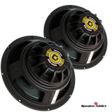 PAIR Celestion BN8-200X Neo Magnet Bass Guitar Speaker 16 Ohm 200W