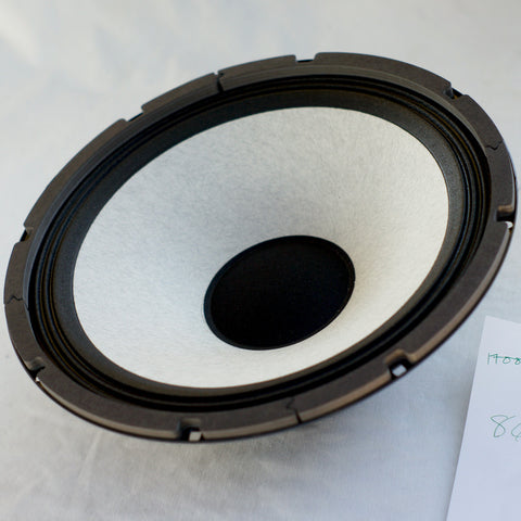 "12"" Eminence 8ohm white cone woofer and Bass Guitar Speaker SWR LA12 - made in USA"