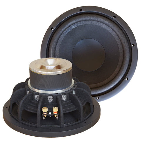 "10"" Audiofile UnderHung IB Series Dipole Woofer - Made in USA"