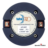 "Faital Pro HF10RT 1"" Compression Horn Driver Neo 120W Tweeter 8Ohm supertweeter"