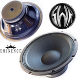"12"" Eminence 4ohm heavy duty woofer midbass and Bass Guitar Speaker made in USA"