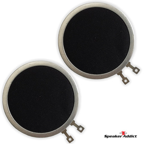 PAIR 32 OHM SFI BIPOLE RIBBON TWEETERS OR ORTHODYNAMIC HEADPHONE DRIVER