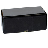 AuraSound Whisper Mini Audiophile Black Lacquer Center Speaker
