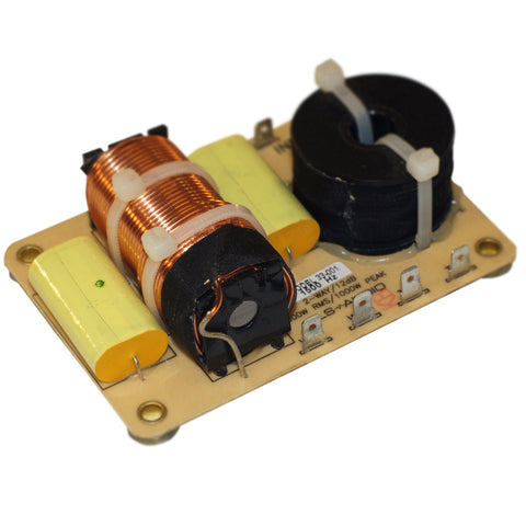 2-way, 1.5KHz, 8 Ohm Passive Crossover 1000W, 12dB Slope with High Grade Components - 001