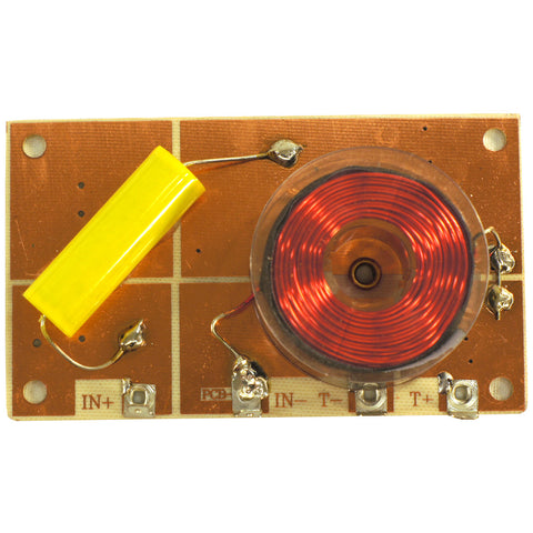 2KHz, 8 Ohm 12dB High Power Tweeter Passive Crossover, High Pass Only 800W Peak - 031