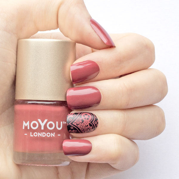 Maroon | MOYOU LONDON - Trending Nail Art Stamping Plates, Designs ...