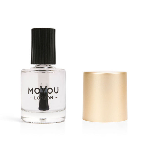 Smudge Free Top Coat - 15ml