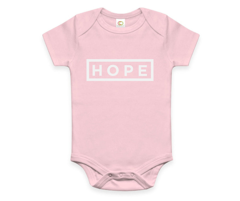 Hope Onesie - Haiti Babi - Artisan Baby Products, Handmade By Moms In Haiti.