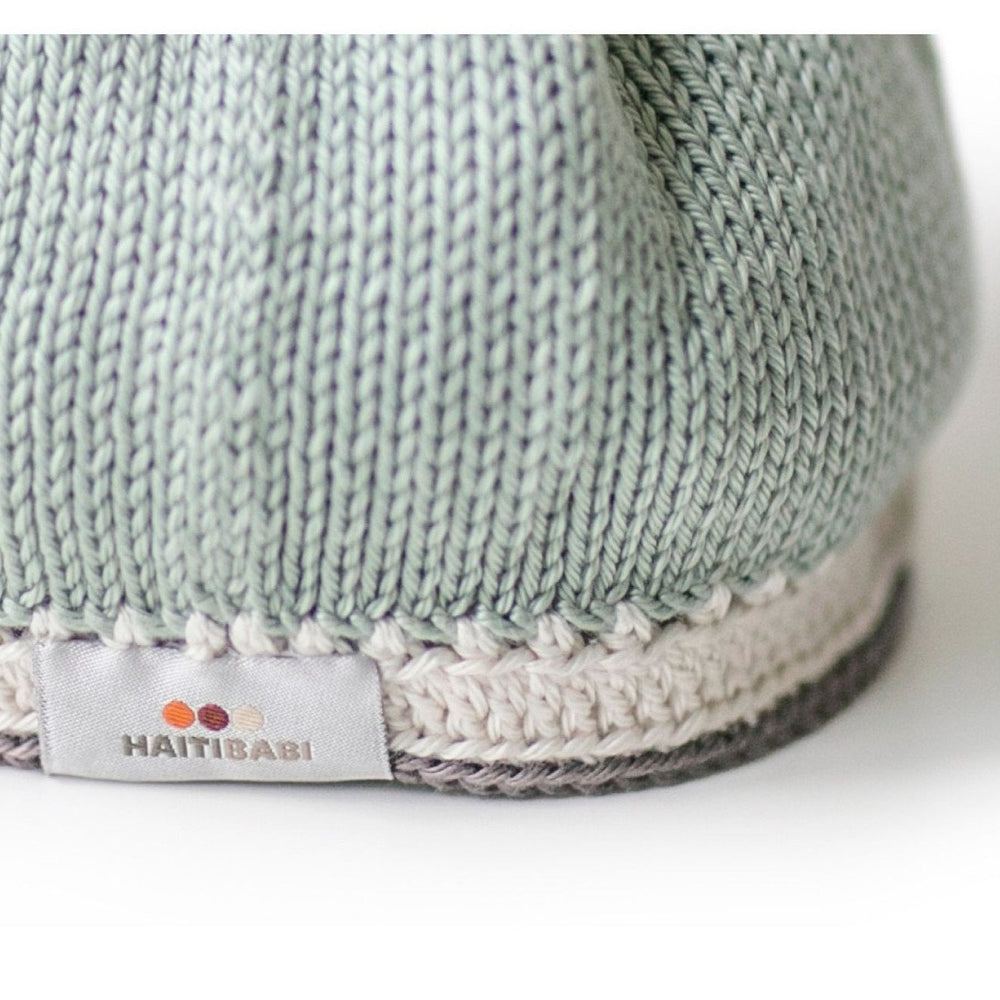 Tranquility Baby Hat: Sage - Haiti Babi - Artisan Baby Products, Handmade By Moms In Haiti.