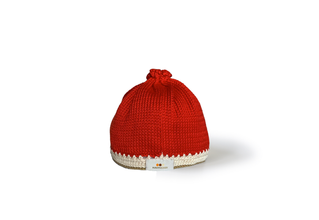 Ruby Red Baby Hat