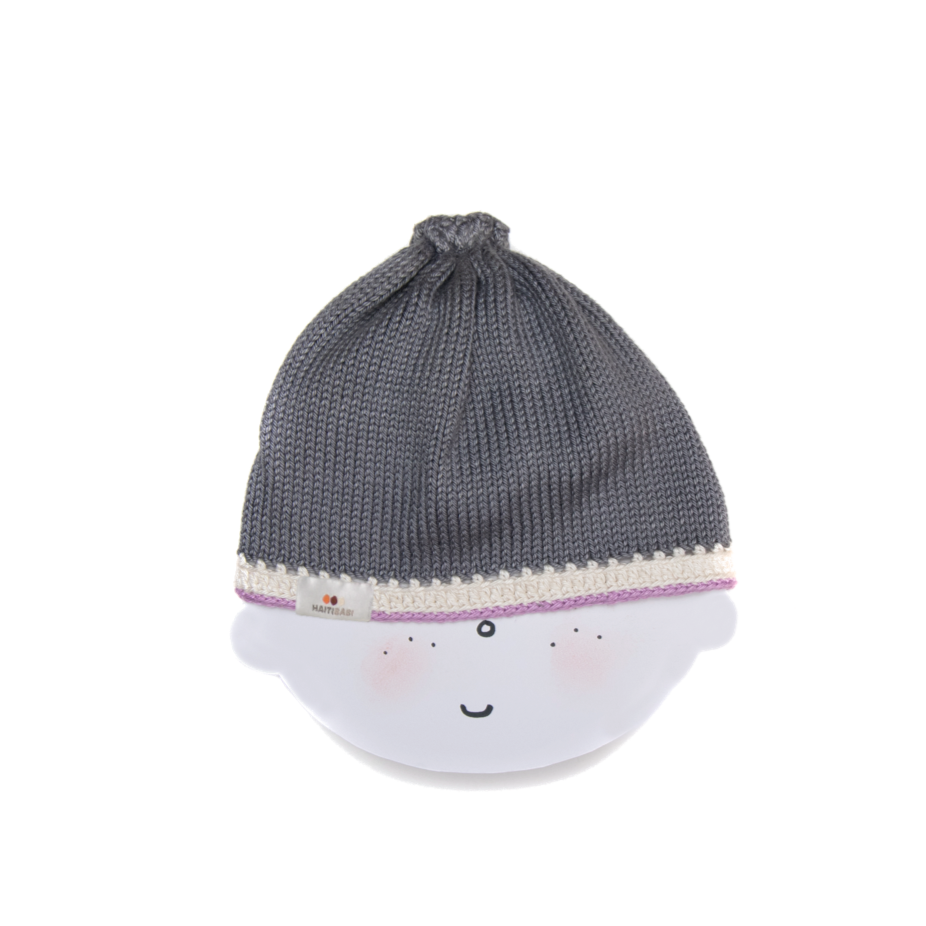 Signature Hat: Stone Orchid - Haiti Babi - Artisan Baby Products, Handmade By Moms In Haiti.