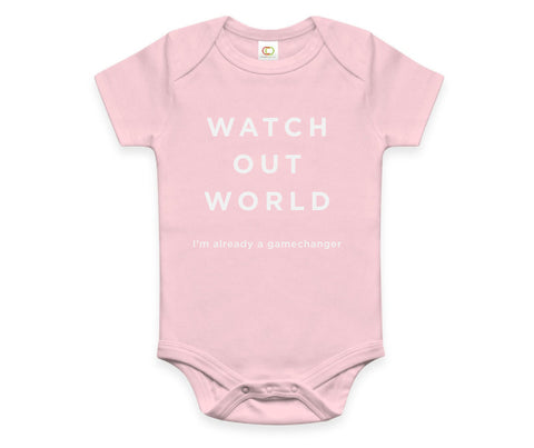 Watch Out World Onesie
