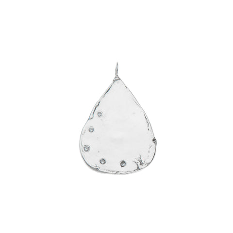 Allora by Laura Alice Grace Multi Diamond Teardrop Charm