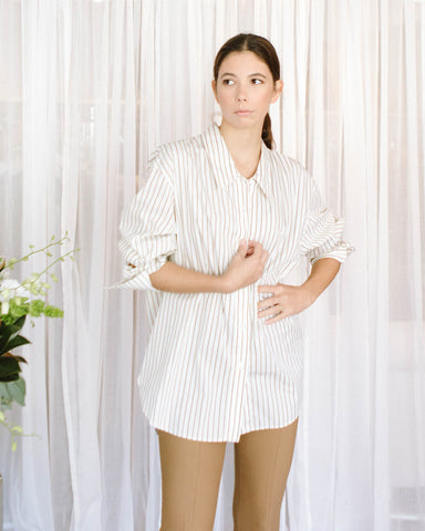 Bagutta Pin Striped Blouse