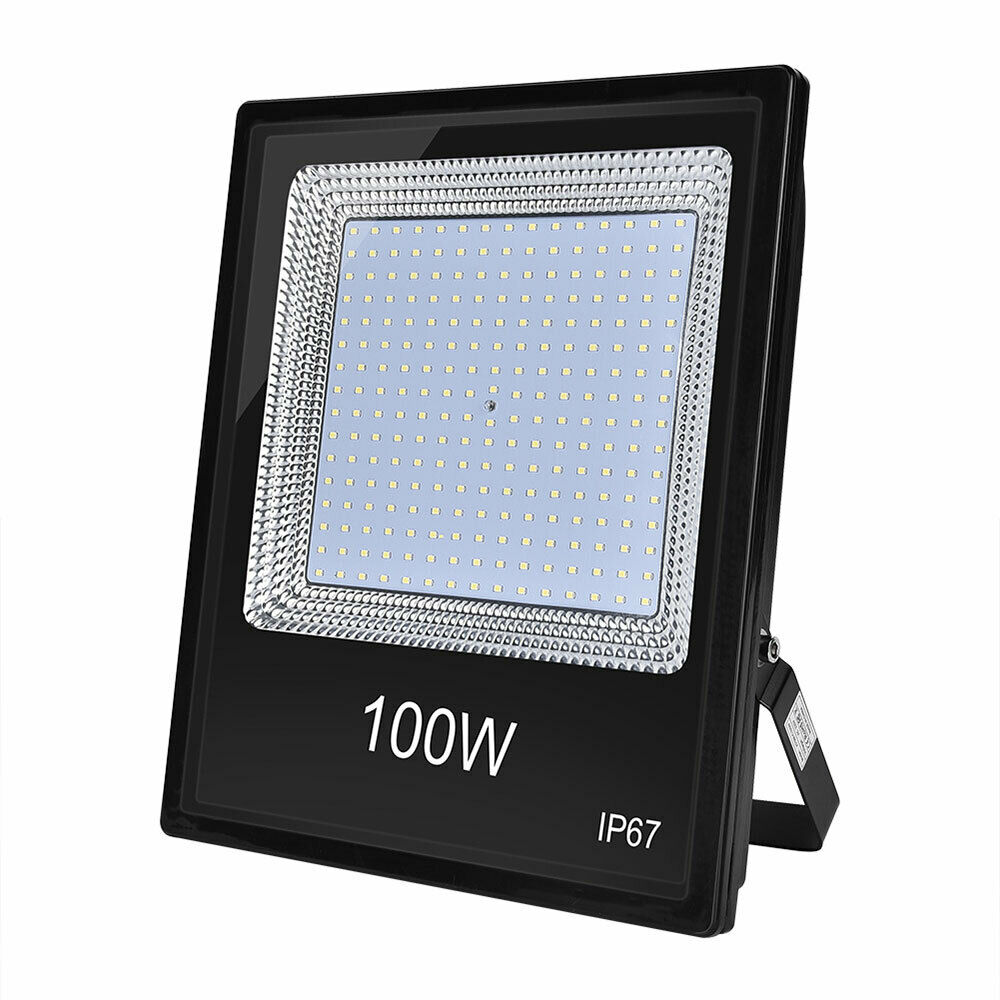 100W Cool White LED Flood Light Outdoor Garden Floodlight BM