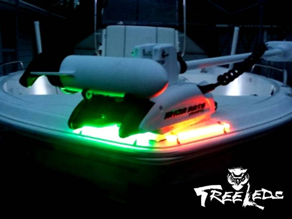 Navigation Marine Boat Bow LED Lighting Waterproof Red & Green Strips Kit