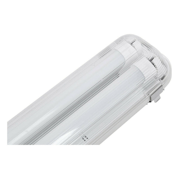 LED Shop Light Fixture 4 Feet T8 Tube Utility Troffer Ceiling Lights Garage 36 Watts Waterproof