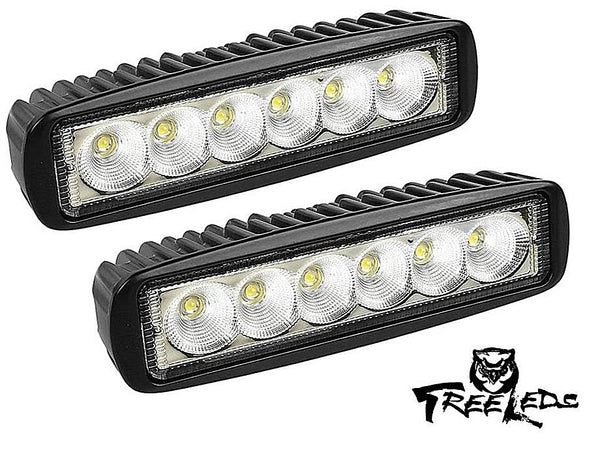 Deck Lights Marine T-Top Led Lights Fog Light Black (Pack of 2)