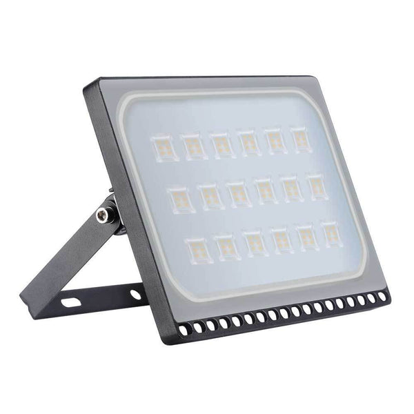 100W Cool White LED Flood Light Outdoor Garden Floodlight (Set of 2)