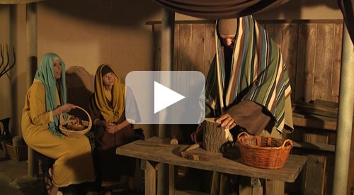Jesus as a boy in the temple video - DOWNLOAD