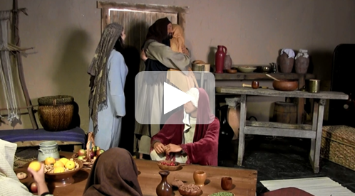 Jesus visits Mary and Martha video - DOWNLOAD