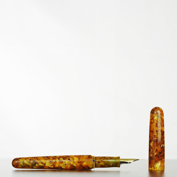 Model-A Fountain Pen, Jurassic Amber