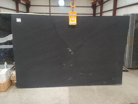 Black Mist Honed Granite Slab