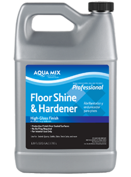 Aqua Mix Floor Shine & Hardener Gallon