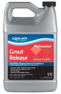 Aqua Mix Grout Release Gallon